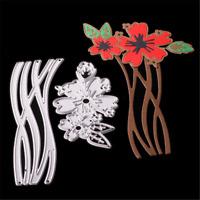 2stk Set Stanzschablone Blume Rebe Oster Hochzeit Weihnachten Karte Album DIY