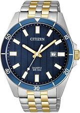 Citizen Quartz Two-Tone Stainless Steel Mens Watch BI5054-53L