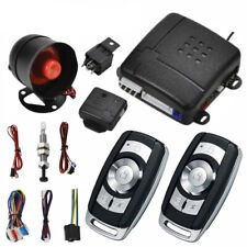 Car Central Alarm Burglar Protection System 2 Remote Control Keyless Entry Siren