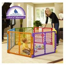 North States Baby Gate Superyard PLAY YARD Portable PLAYARD Colorplay 6-Panel