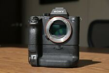 Sony A7SII / A7S II / A7S2 Full Frame Camera Body w/ Battery Grip & 7 Batteries