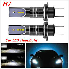 2 PCS Car SUV H7 LED Headlight Lamp Bulbs 26000LM w/ No Errors 6000K DC 9V-32V