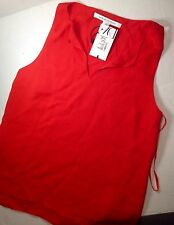 Designer Clothing Diane vonFURSTENBERG Women's Sleeveless Petite DVF RAICA