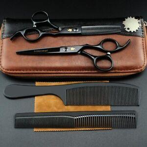"""Schwarzkopf Schwarz 6"""" Cutting & Thinning Hairdressing Scissors Set RRP £175.00"""