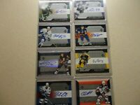 2005-06 TRILOGY HOCKEY AUTO LOT NICE 8 TOTAL