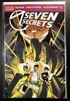 🚨💥 SEVEN SECRETS #3 Main Cover NM Gemini Shipping!