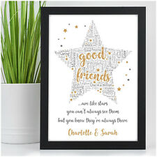 PERSONALISED Gifts for Best Friend Christmas Presents for Her She BFF Friendship