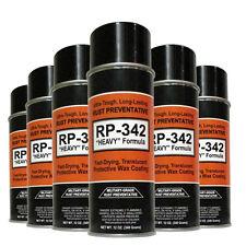 "6-Cans - COSMOLINE MILITARY-GRADE ""Heavy"" Spray Type Rust Preventive RP-342"