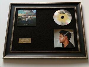 SIGNED/AUTOGRAPHED NIALL HORAN - HEARTBREAK WEATHER FRAMED CD PRESENTATION