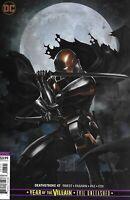 Deathstroke Comic 47 Cover B Variant Skan First Print 2019 Priest Pasarin DC