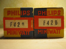 F 420 #philips #monza Italy #valve #lampe #tube #preamp #phono #input Stage NEW
