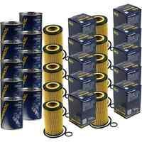 10x Original SCT Ölfilter SH 4786 P + 10x SCT Motor Flush Motorspülung