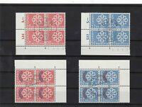 switzerland europa 1959 overprints used stamps blocks cat £100 Ref 10287