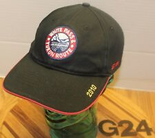 2010 WHITE PASS & YUKON ROUTE HAT BLACK STRAPBACK EMBROIDERED VERY GOOD COND G24
