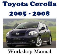 toyota corolla 2005 manual download