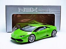 Welly 2014 Lamborghini Huracan LP 610-4 Green in 1/18 Scale. New! In Stock!