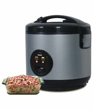 1.8L Non Stick HEALTHY Rice Cooker + Steamer 10Cup Automatic Electric Pot Warmer