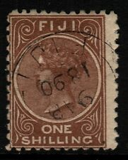 ~  FIJI, USED, #44A, 10X10, DEEP BROWN, GREAT CENTERING