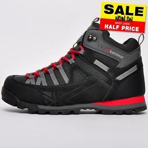 Karrimor Premium Spike Mid 3 Mens Waterproof Walking Hiking Trekking Boots Black