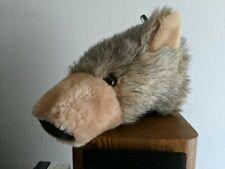 Bear Head Soft Mount Wall Sculpture by Dianne Shapiro