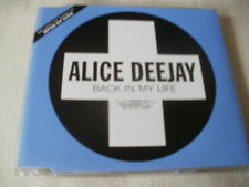 ALICE DEEJAY - BACK IN MY LIFE - POSITIVA TRANCE CD SINGLE