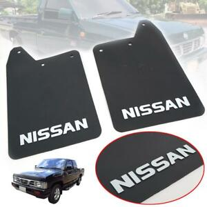Fit 1986-97 Nissan Hardbody Back Rubber Mud Flap Splash Guard Mud Guard D21