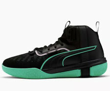 Puma Legacy Dark Mode Basketball Shoes Sneakers Men's Black Orchid Bloom Size 11