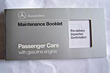 1993 mercedes sl Owners Maintenance Book W129 W140 W124 new original