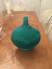 Signed Italian Murano Glass Bottle by Cenedese Scavo