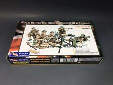 Gecko Models 35GM0013 1/35 WWII British MG Team In Combat [N.W.Europe]