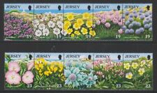 Jersey - 1995, Nature Conservation, Flowers set - MNH - SG 707/16