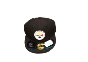 NWT New Pittsburgh Steelers New Era 59Fifty OnField Size 6 5/8 Fitted Hat