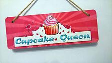 Appeso segno (piccole) in MDF-Cupcake Regina