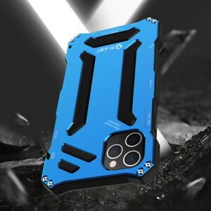 R-just Metall Gundam Silikon Outdoor Hülle Case Cover für 2019 iPhone 11 Pro Max