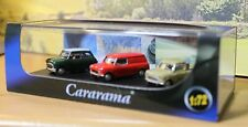 Oxford 1/72 scale Mini cars set, van, Mini Cooper and Pickup, Boxed.