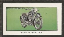 KINGS LAUNDRIES-MODERN MOTORCYCLES-#05- MATCHLESS G80S