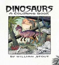 NEW - Dinosaurs: A Coloring Book by William Stout