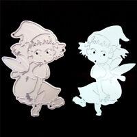 Elves witch Metal Cutting Dies Stencils for DIY Scrapbooking Album Paper Card ES