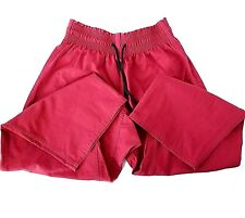Century Martial Arts Gi Pants Size 4 Red - 8 Oz. Middleweight Contact Pants