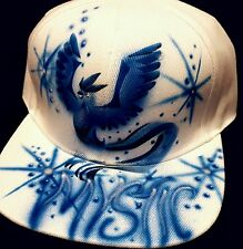 Pokemon Go Custom Airbrush Trucker Hat! Team  Mystic Articuno snapback Pokémon