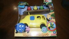 DISNEY JUNGLE JUNCTION HIPPOBUS TRANSPORT  FIGURE 2011 FISHER PRICE