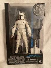 Star Wars The Black Series Boba Fett Prototype Armor 6? Hasbro Blue Line