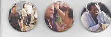 "LOST ""Buttons"" with Sawyer, Sun, Jin, Michael, Kate, Jack (LOT of 3) Convention"