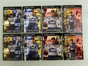 2003 Press Pass Jimmie Johnson Rookie Replay (#64-67) Lot of (8) NM/MT