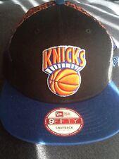 New Era New York Knicks NBA Snapback Hat Black Med/Large