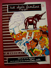 BROCHURE LE CHOCOLAT COTE D'OR BELGIQUE EXPOSITION 1958