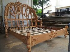 Super King  Designer luxury Chatelet® luxury Bed mahogany rococo wood