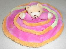 Doudou Plat Rond/Ovale OURS SPIRALE Kaloo (448)