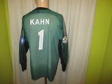 FC Bayern München Adidas Champions League Torwart Trikot + Nr.1 Kahn Gr.S- M TOP