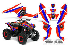 Can-Am Renegade Graphics Kit by CreatorX Decals Stickers TOP FUEL BLR